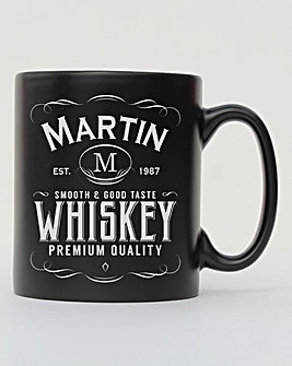 Personalised Label Mug