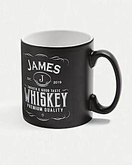 Personalised Label Mug