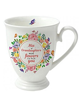 Personalised I'd Pick You Marquee Mug