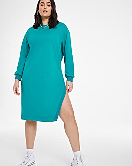Cypress Green Assymetric Dress