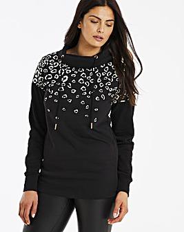 Animal Longline Sweatshirt