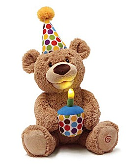 Gund Happy Birthday Animated Teddy