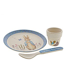 Beatrix Potter Bamboo Egg Cup Dinner Set