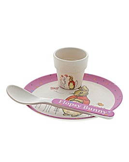 Beatrix Potter Bamboo Egg Cup Dinner Set