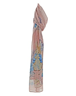 Peter Rabbit Garden Party Scarf