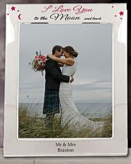 Personalised Moon & Back SP Frame