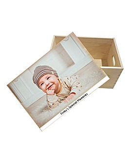 Personalised Photo Memory Box
