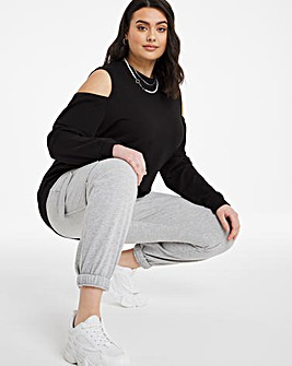 Cold Shoulder Sweatshirt