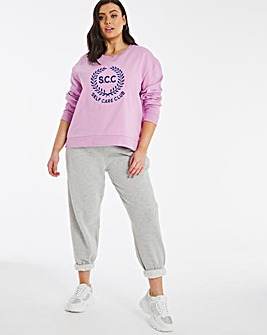 Pink Self Care Club Sweatshirt