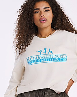 Varsity Self Care Sweatshirt