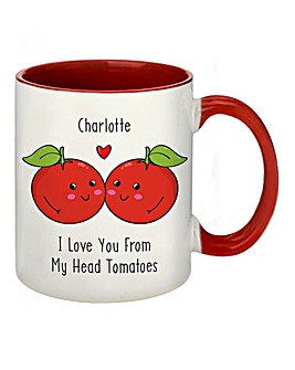 Pers My Head Tomatoes Mug