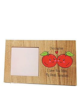 Personalised Tomatoes Photo Frame