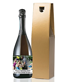 Personalised Photo Bottle of Prosecco