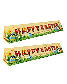 Happy Easter Toblerone Twin Pack