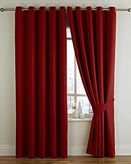 Twilight Woven Blkout Eyelet Curtain