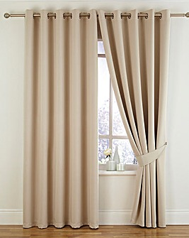 Twilight Woven Blackout Thermal Eyelet Curtains
