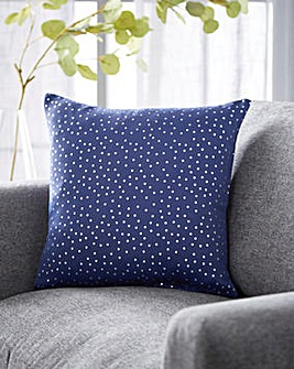Dotty Metallic Filled Cushions