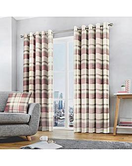 Fusion Balmoral Printed Eyelet Curtains