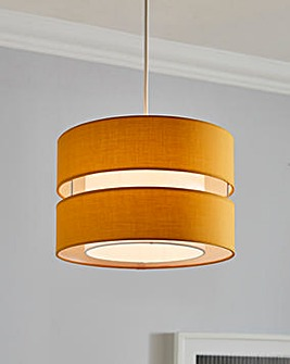 Layered Easy Fit Pendant Shade