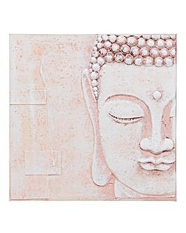 Blush Buddha 3D Resin