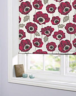 Poppy Printed Daylight Blind
