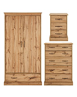 Hartland 3 Piece Bedroom Package