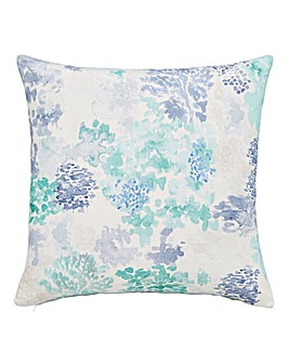 Inky Coral Cushion