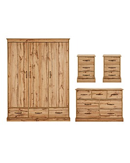 Hartland 4 Piece Bedroom Package
