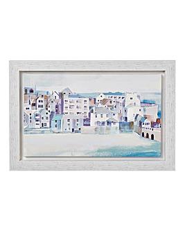 Coastal Scene Framed Print