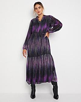 Jo Stripe Print Midi Dress