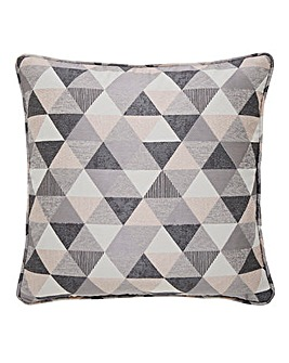 Zada Linear Geo Jacquard Cushion