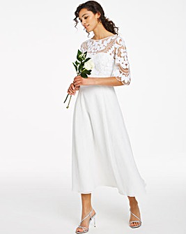 Joanna Hope Bridal Midi Dress