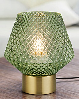 Mia Green Table Lamp