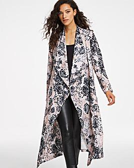 Joanna Hope Snakeskin Kimono