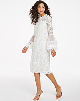 Joanna Hope Lace Shift Dress