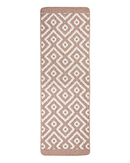Geo Stain Resistant Cosy Runner