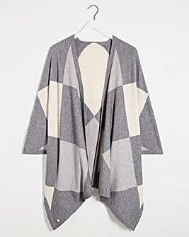 Joanna Hope Intarsia Cape