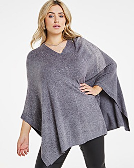 Joanna Hope Stud Detail Poncho
