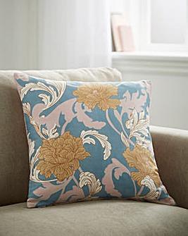 Nouveau Floral Cushion