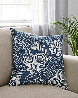 Mono Floral Cushion