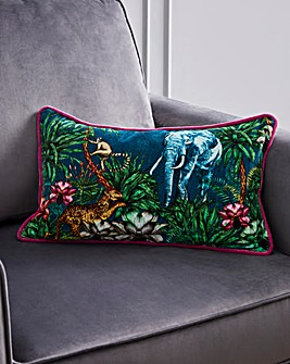 Joe Browns Majestic Elephant Print Cushion