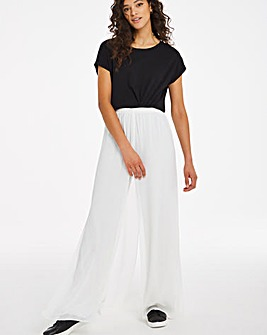 Joanna Hope Chifon Overlay Trousers
