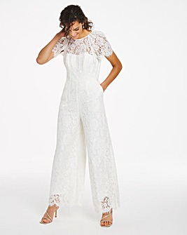 Joanna Hope Bridal Lace Jumpsuit