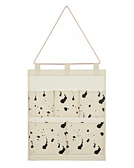 Pocket Black Spatter Wall Hanger