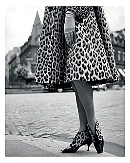 Dior Leopard Print Dress Wall Art
