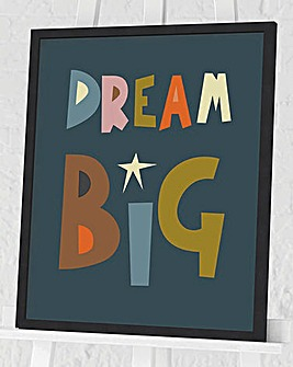 Nicola Evans Dream Big Wall Art
