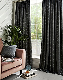 Gemini Blockout Pencil Pleat Curtain
