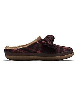 Toms Ivy Plaid Slippers D Fit