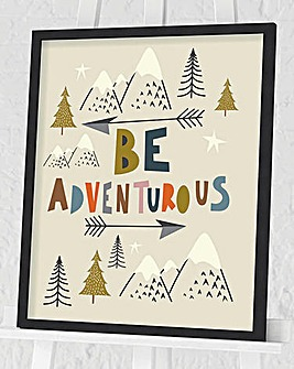 Nicola Evans Be Adventurous Wall Art