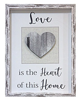 Love Wooden Framed Print